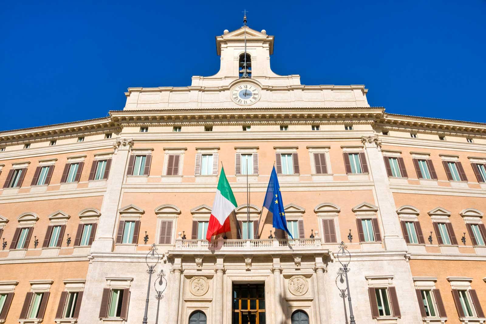 Riordino positivo anche il parere del parlamento vicina for Il parlamento italiano