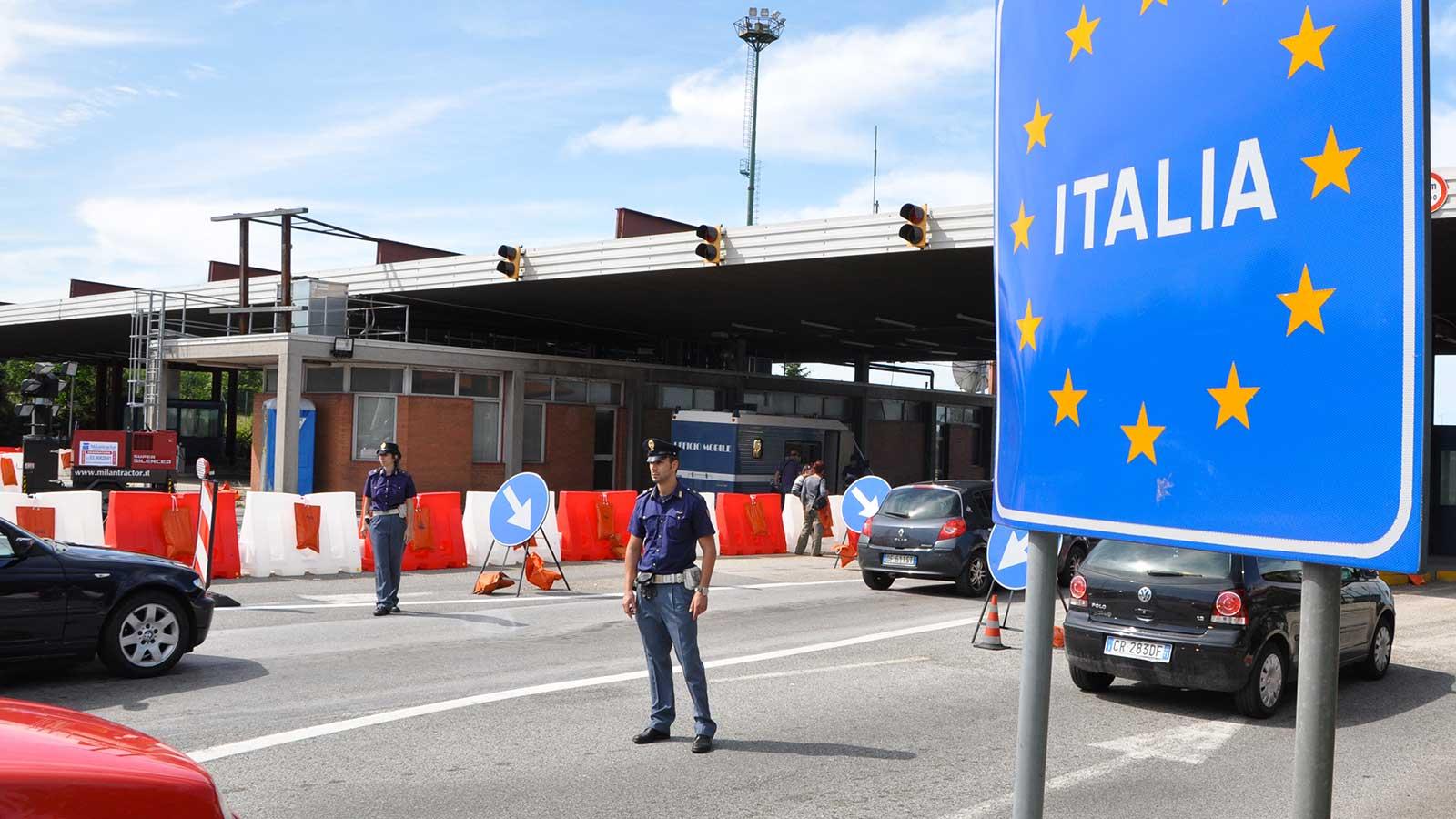 polizia frontiera corso