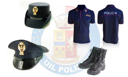 dotazione polizia di stato divise