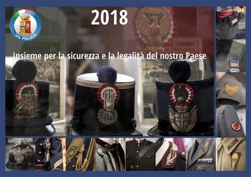 Calendario UIL Polizia 2018 01
