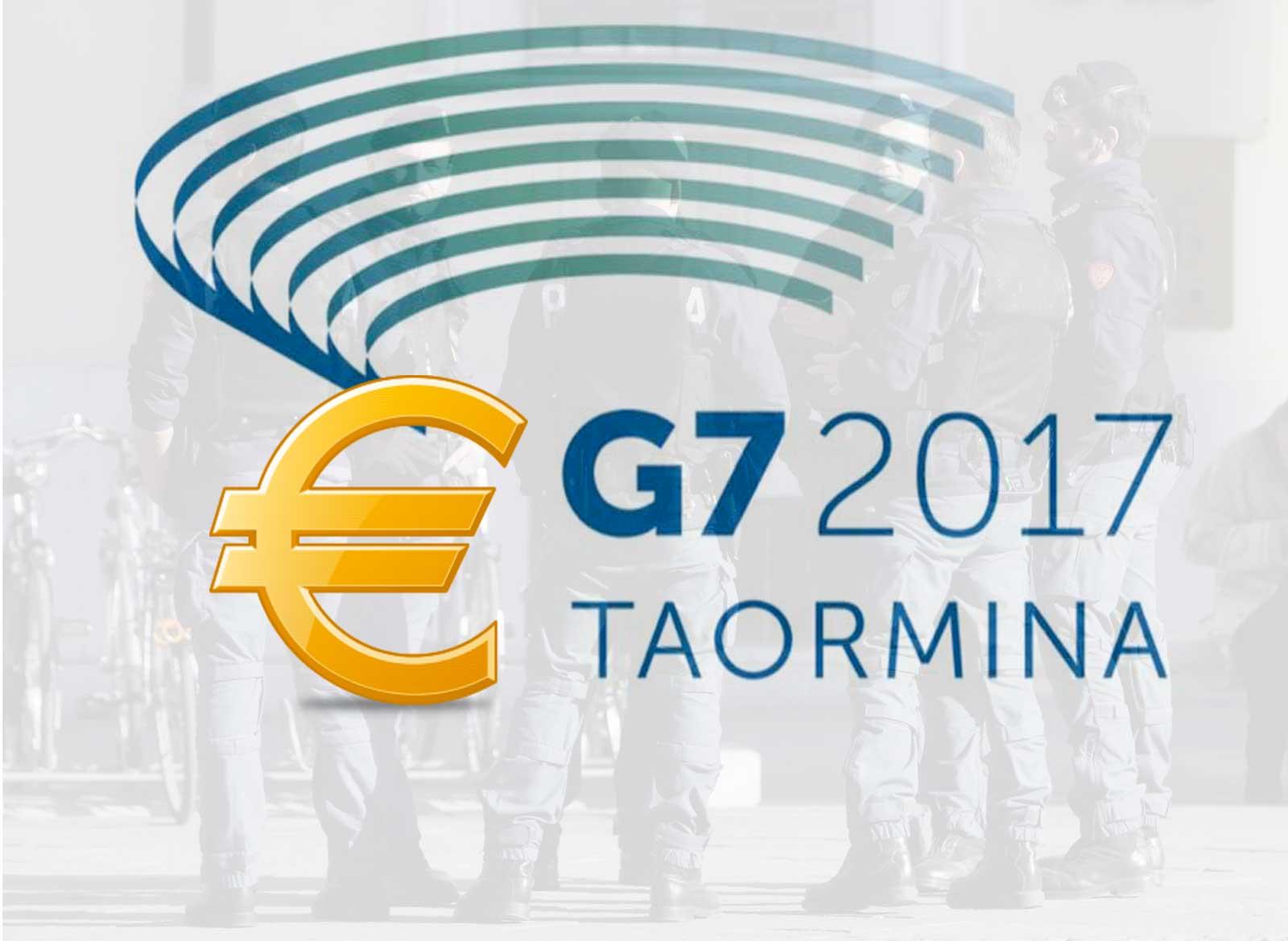 G7 Taormina polizia di stato