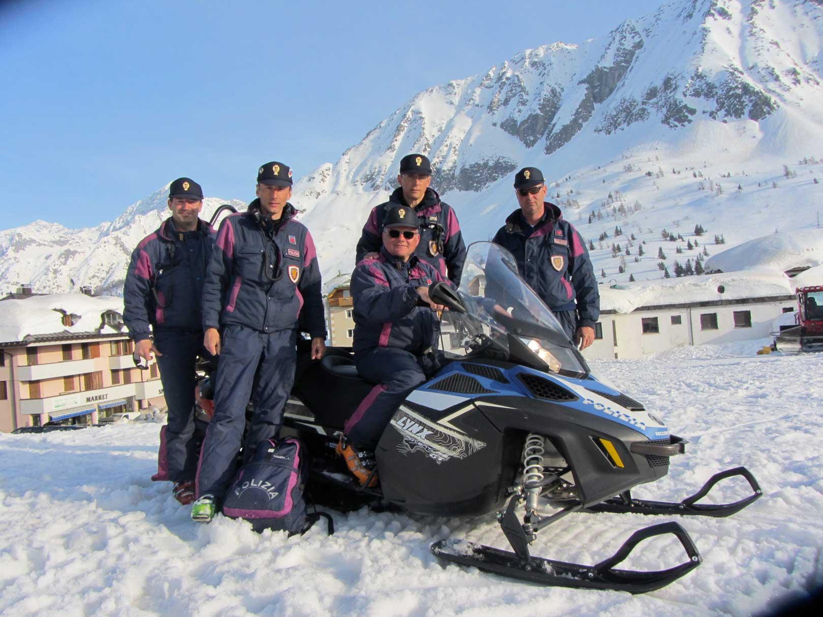soccorso alpino polizia