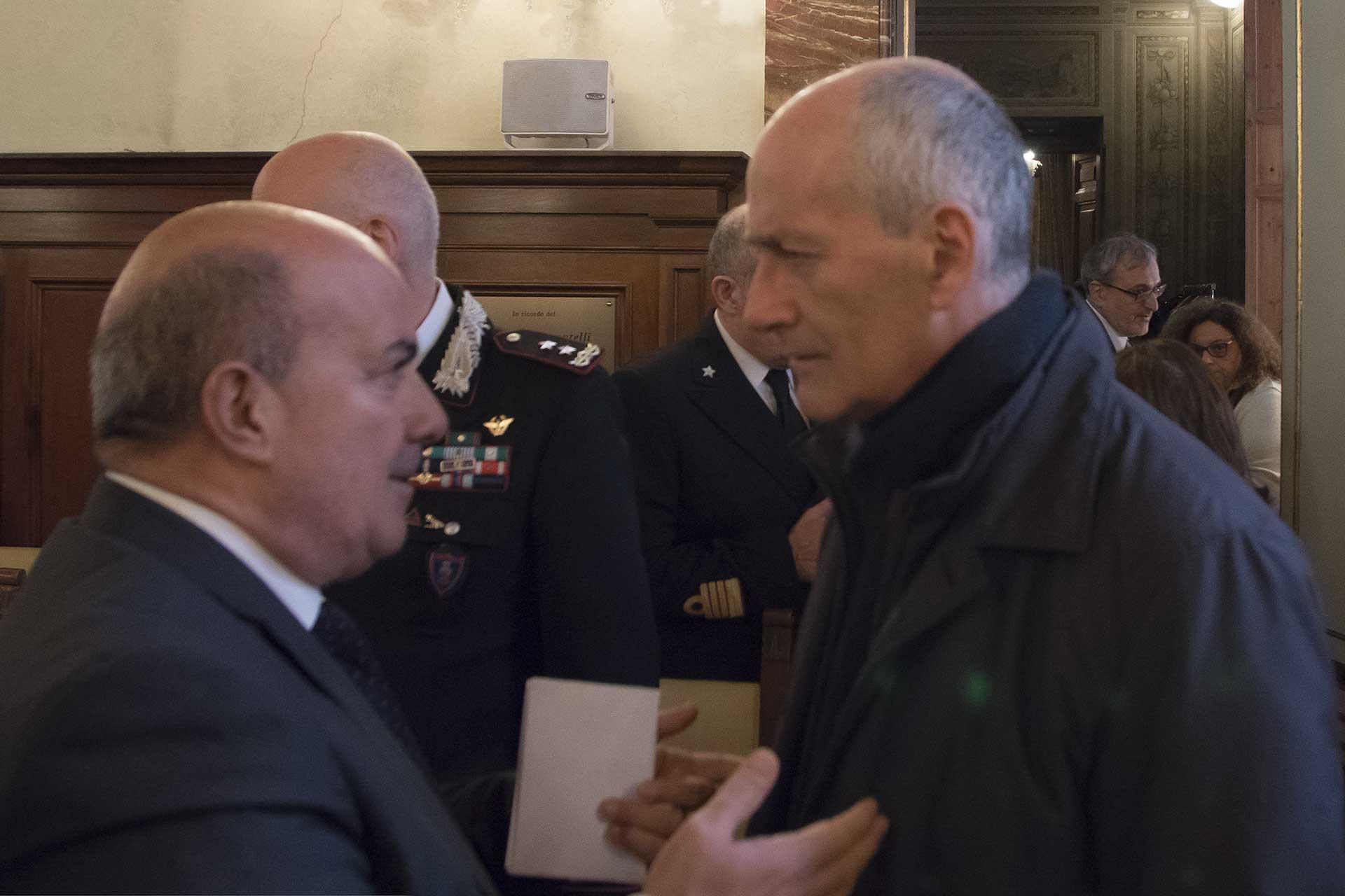 Oronzo Cosi e Franco Gabrielli