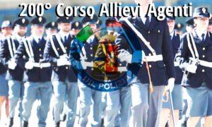 200 corso allievi agenti polizia di stato