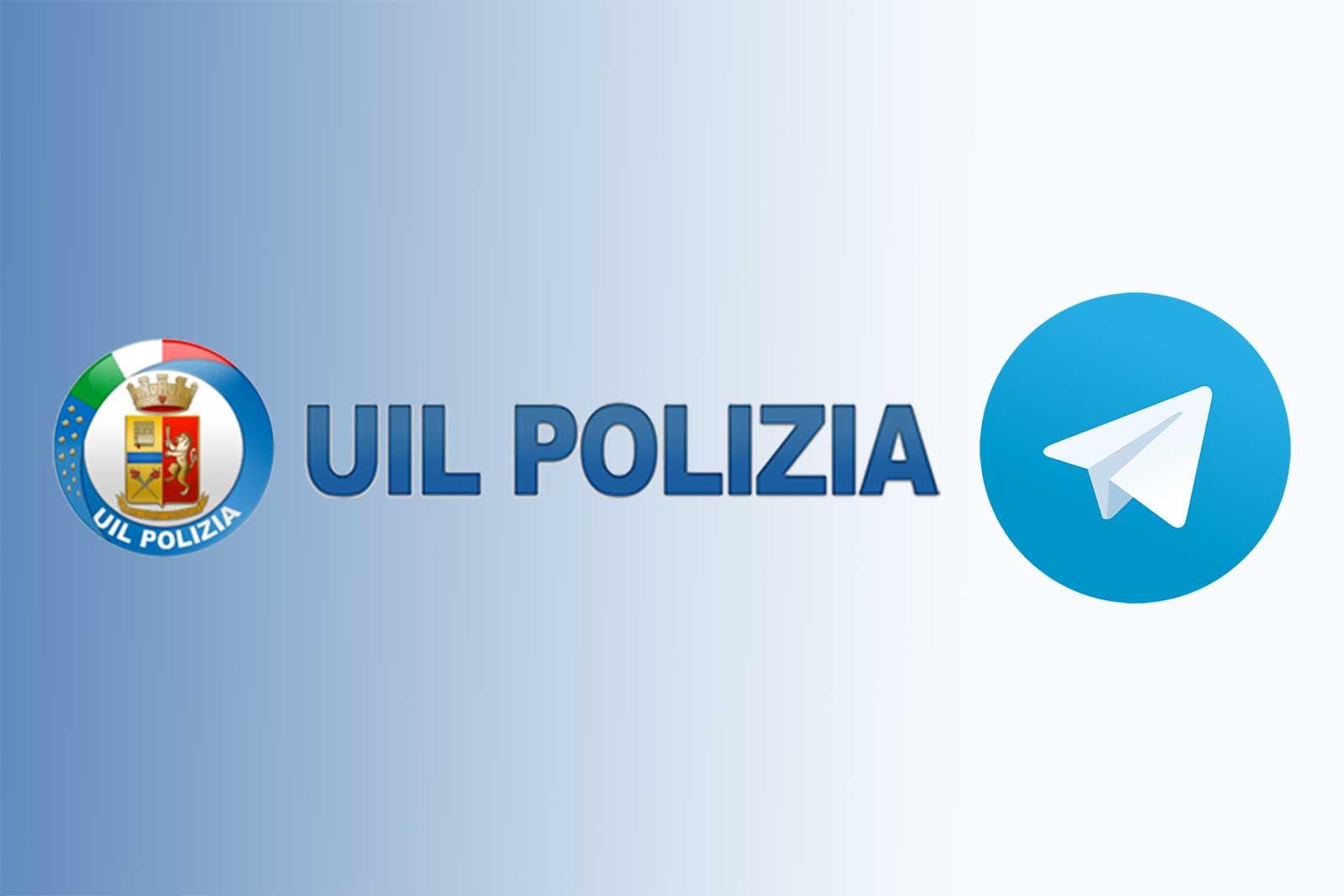 UIL Polizia canale telegram