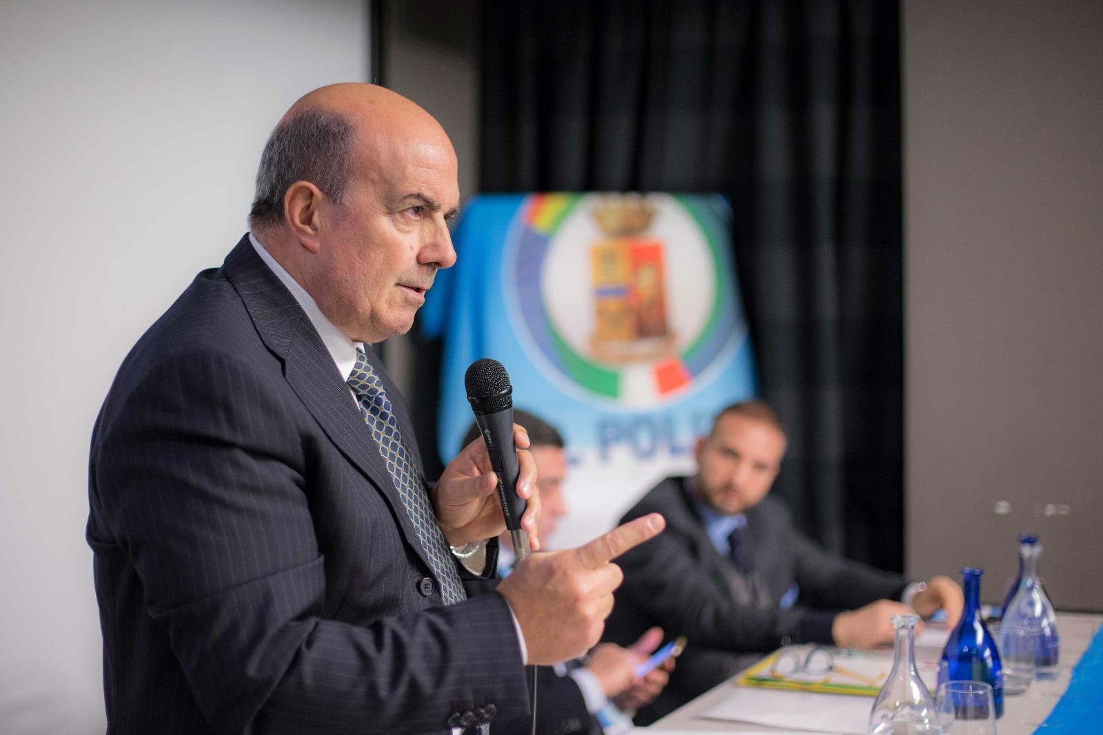 Consiglio generale UIL Polizia Oronzo Cosi