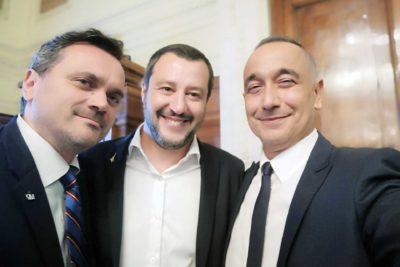 Matteo Salvini Silvio Riccardi Vittorio Costantini