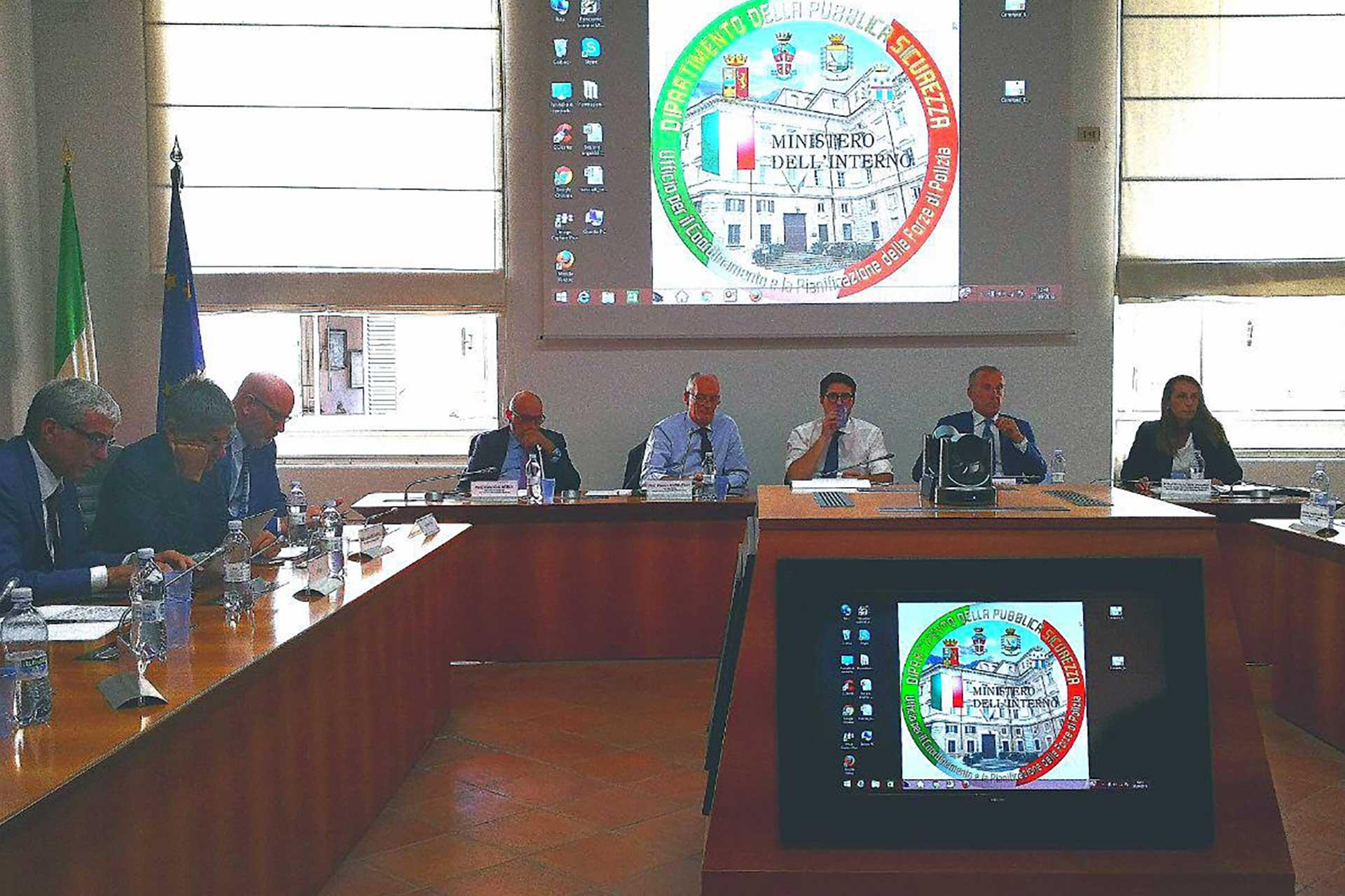 Report incontro UIL Polizia Molteni
