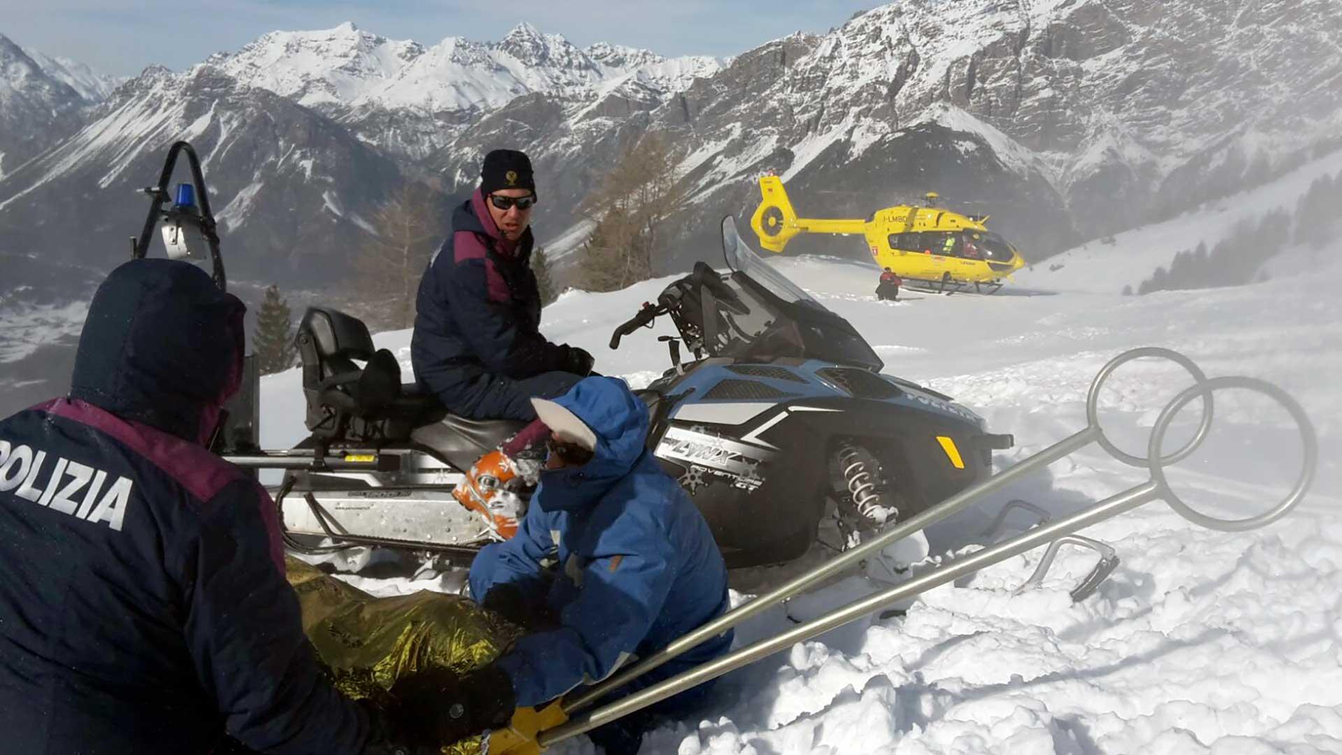 Photo of Servizi di sicurezza e soccorso in montagna a cura della Polizia di Stato – Stagione invernale 2020/2021