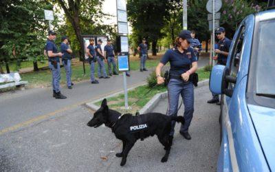 cani antidroga Polizia di Stato