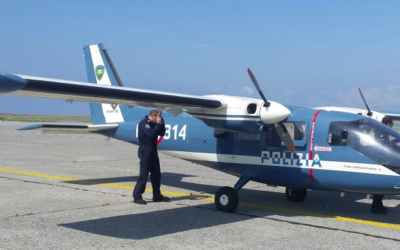 reparto volo polizia aereo