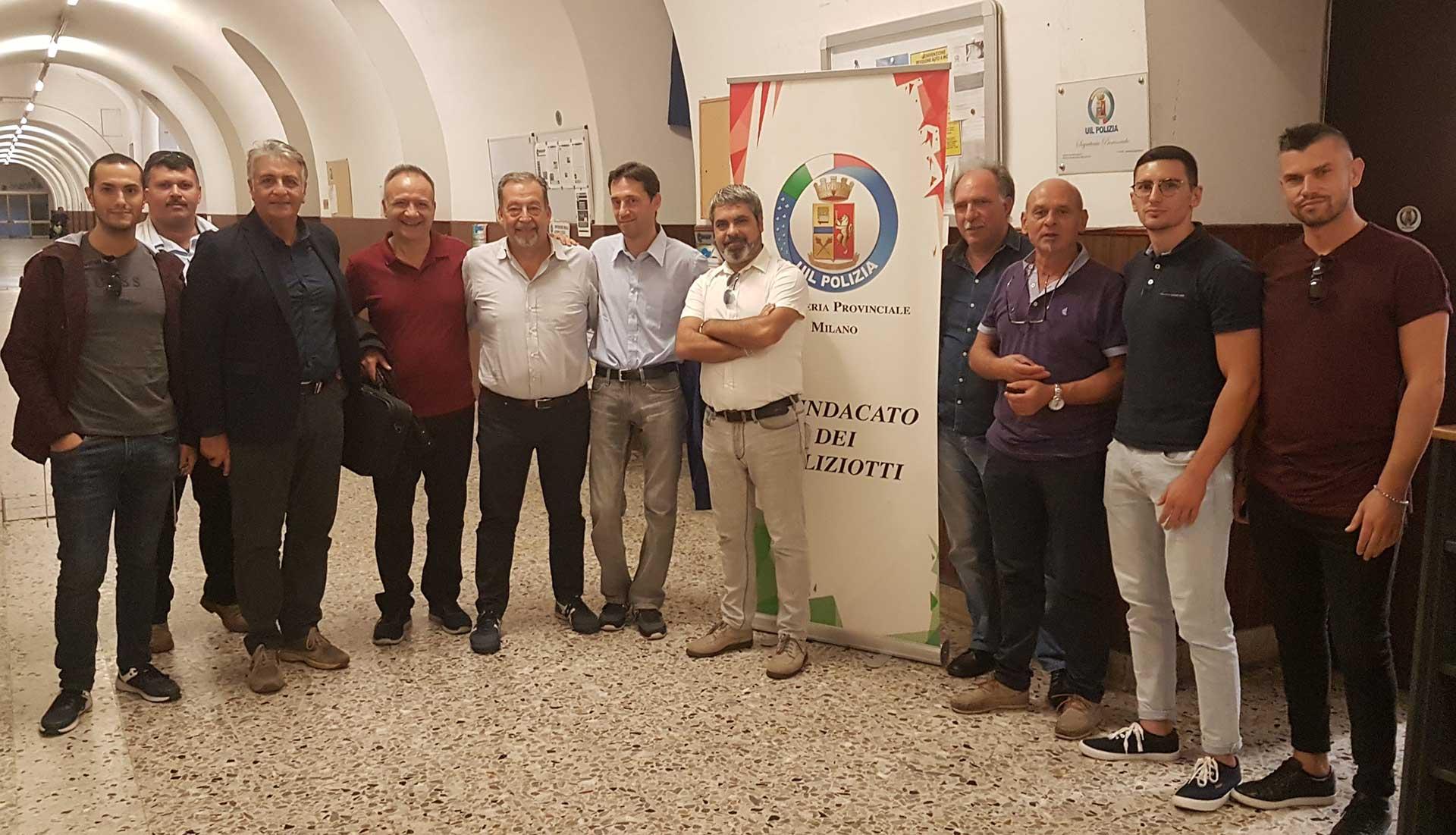 Photo of Milano: Nuovo Segretario Generale Provinciale UIL Polizia
