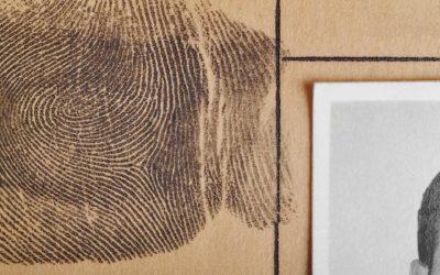 fotosegnalamento impronta digitale