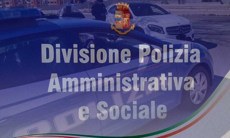 divisione polizia amminitrativa e sociale