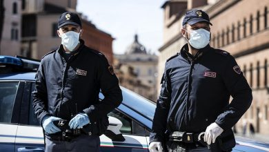 Polizia mascherina